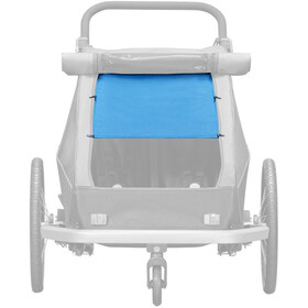 Croozer Solskydd Förr Kid Plus / Kid for 2 Barn ocean blue